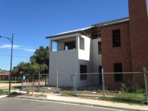 rendering a wall adelaide